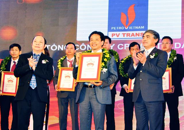 PVTrans has been recognized in top 500 argest enterprises in Vietnam 2015 (VNR 500), also entered the list of top 50 excellent Vietnam Business Companies (Vietnam the best top 50)